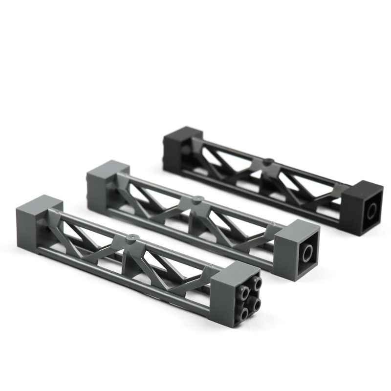 Строительные блоки для города, поезд, автомобиль, опорная балка, колонна, балка, 2x2x10, военные кирпичи, игрушки, совместимые с Legoes Technic Part