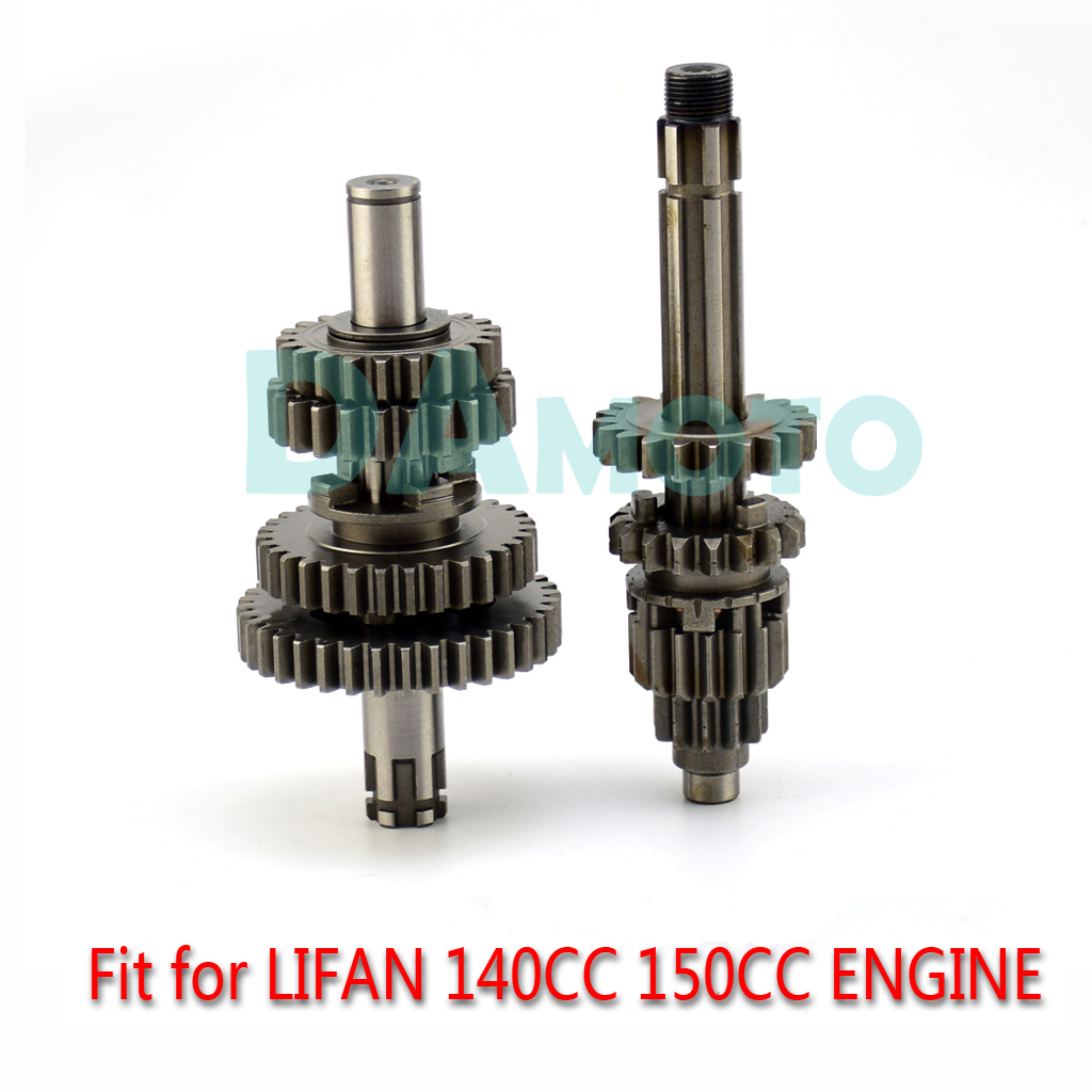 LIFAN 140CC 150CC 4-ступенчатая передача, основной столешница 17 мм для LF140 150 SDG SSR Piranha Pitster IMR Pit Dirt Bike