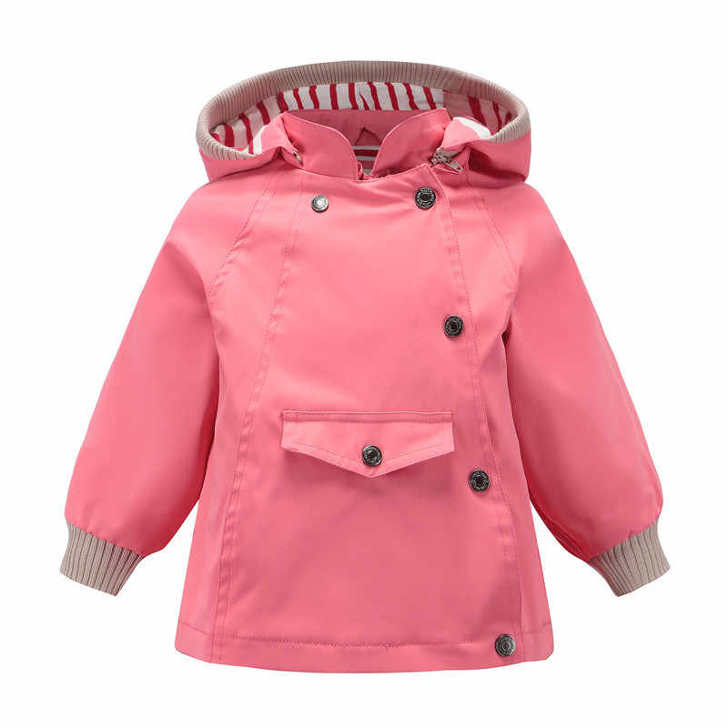 Children jackets Windbreaker Outerwear Hooded baby Girls Coats Casual Jackets kids Waterproof Raincoat toddler boys jacket