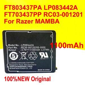 Image 1 - 100% الأصلي تسليم المنزل FT803437PA Ip083442a بطارية ل Razer1 مامبا FT703437PP RC03 001201 الليزر اللاسلكي ماوس النجا ملحمة