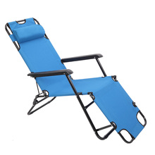 Folding Camping Reclining Chairs Portable Zero Gravity Chair Outdoor Dual Purposes Lounge Chairs Patio Outdoor Pool Beach Lawn cheap