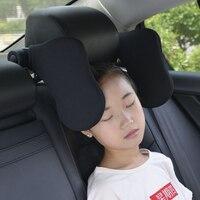 Baumwolle Auto Sitz Kopfstütze Neck Kissen Neck Support Können Fühlen Freie Einstellung Winkel Rest Pad Reisen Kopfstütze Kissen