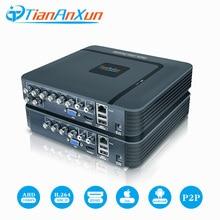 Tiananxun H.264 ahd DVR 8ch Video Surveillance Recorder 4Ch CCTV Sistema di Sicurezza 1080N Hybrid Mini dvr Per La Macchina Fotografica Analogica Ip