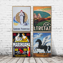 Printed Poster Drug Wall-Art-Picture Horse-Wings Living-Room Inject Home-Decor Painting