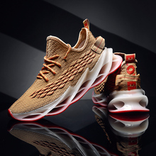 Comfortable Running Shoes Blade Cushioning Sneakers for Men Breathable Sports Shoes Outdoor Athletic Training Walking Sneakers cinessd new lightweight cushioning running shoes breathable sport shoes comfortable sneakers men athletic training jogging shoes