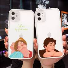Call Me by Your Name Phone Case matte transparent For white iPhone 7 8 x xs xr 11 12 pro plus max mini  Clear Funda