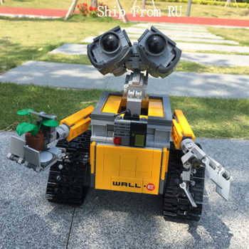 Legoing Creator Series Idea Robot WALL E Movie Figures 687PCS Building Blocks Compatible Creator Legoed EVE Children Toys WELL E - DISCOUNT ITEM  30% OFF Toys & Hobbies