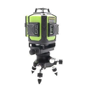 Image 2 - 2020 جديد فوكودا المهنية 16 خط 4D مستوى الليزر اليابان حاد الأخضر 515NM شعاع 360 الرأسي والأفقي الذاتي التسوية الصليب