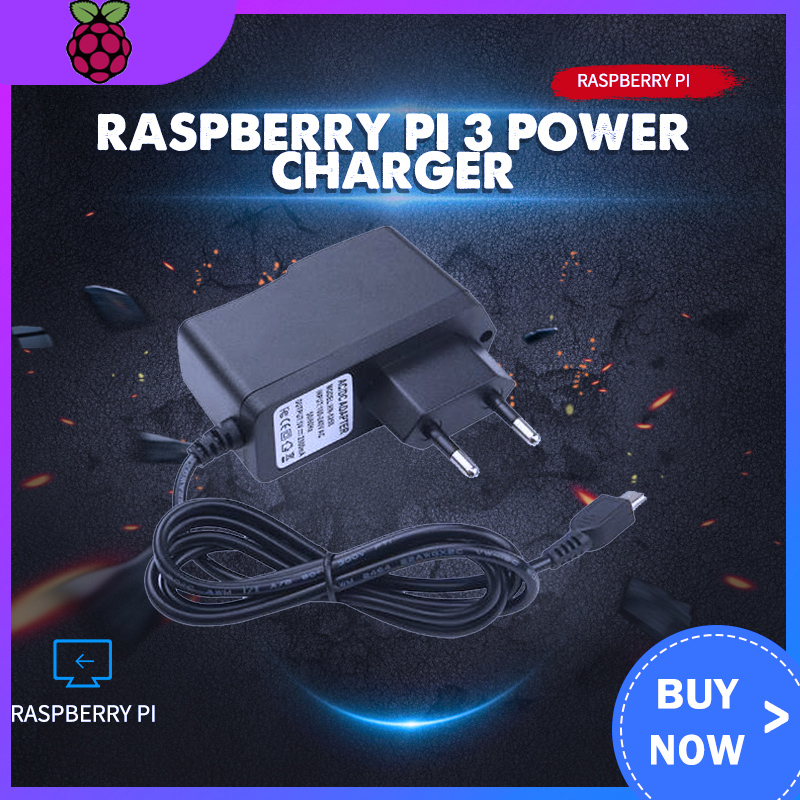 Raspberry Pi 3 Power Charger 5V 2.5A Micro Port Power Adapter Supply EU US UK AU Plug For Raspberry Pi 3 Model B