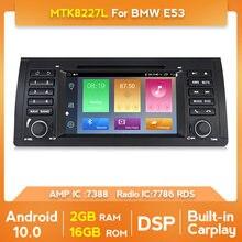 Android 10.0 reprodutor de dvd do carro para bmw e53 e39 x5 quad core rádio do carro auto multimídia estéreo buit em carplay com wifi dsp bt swc