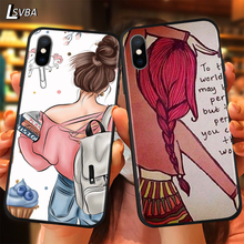 BEST FRENDS Luxury Anti-fall Phone Case For iPhone 11 Pro XS Max X XR 6S 6 7 8 Plus 5S Soft Back Cover frends 1kg