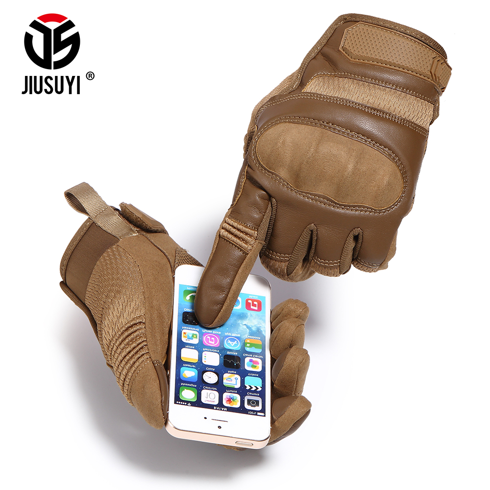 Image 5 - Soldier Assault Military Airsoft Full Finger Gloves Touch Screen Paintball Shooting Hard Knuckle Army Force Gear Armor GlovesMens Gloves   -