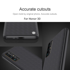 Image 5 - Nillkin Textured nylon Texture Pattern Case For Huawei Honor 30 Pro Pro+ Plus