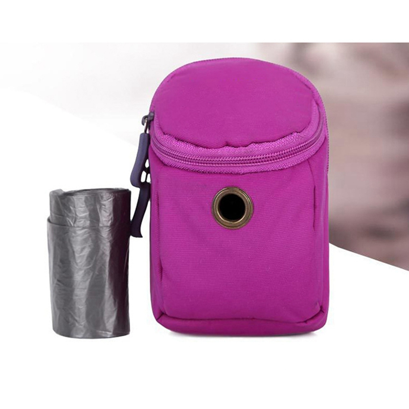 Pet Dog Poop Waste Bag Holder Dispenser Food Treat Snacks Bag Mini Cleaning Bag Holdder For Puppy Dog Putdoor Walking Accessory