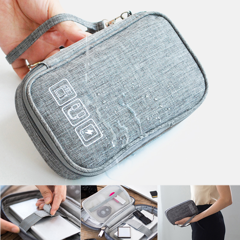 Cable Bag Organizer Wires Charger Digital Usb Gadget Portable Electronic Earphone Case Zipper Storage Pouch Accessories travel