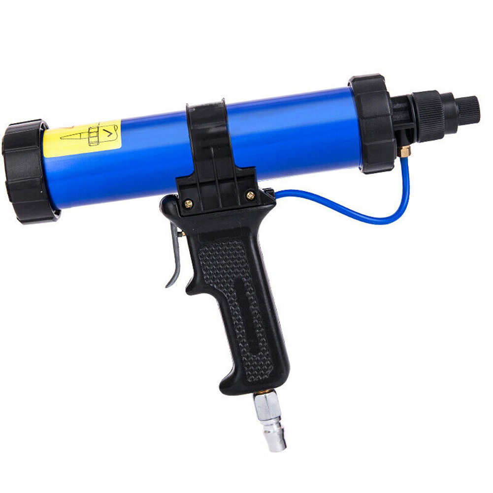 Handheld Glue Applicator Grout With Nozzles Practical Glass 310 ML Pneumatic Low Noise Metal Sealant Air Caulking Tool