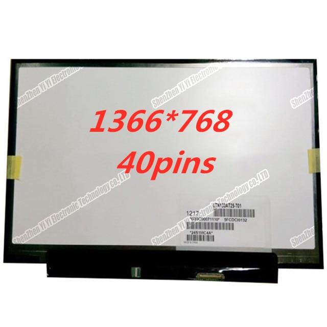 13.3 inch Slim Displays For Toshiba R700 Z835 Z830 Z930 Z935 Laptop LED LCD Screens LTN133AT25 LTN133AT25 501 601 LTN133AT25 T01