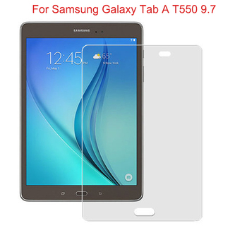9H HD Screen Protector For Samsung Galaxy Tab A T550 T551 T555 Tempered Glass For SM-T550 9.7 Tablet Protective Film Premium image