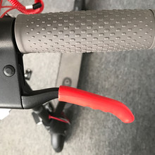 For Xiaomi Mijia M365 Electric Smart Scooter Skateboard Brake Handle Bar Grips Fixed Gear Silicone Protective Case Cover(China)