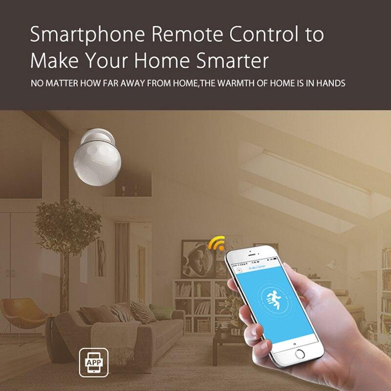 Image 5 - KSLAIC Wifi PIR Sensor Motion Detector Wireless Infrared Alarm System magnet bracket Home Security Burglar Alarm Movement Sensor