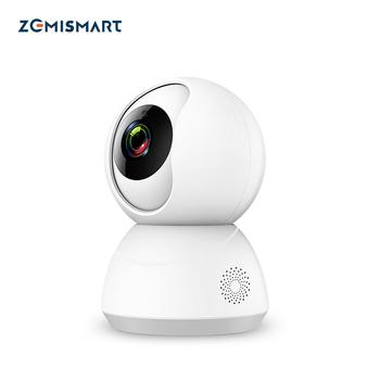Tuya WiFi caméra de vidéosurveillance 1080P Intercome Standard ONVIF alarme de sécurité...