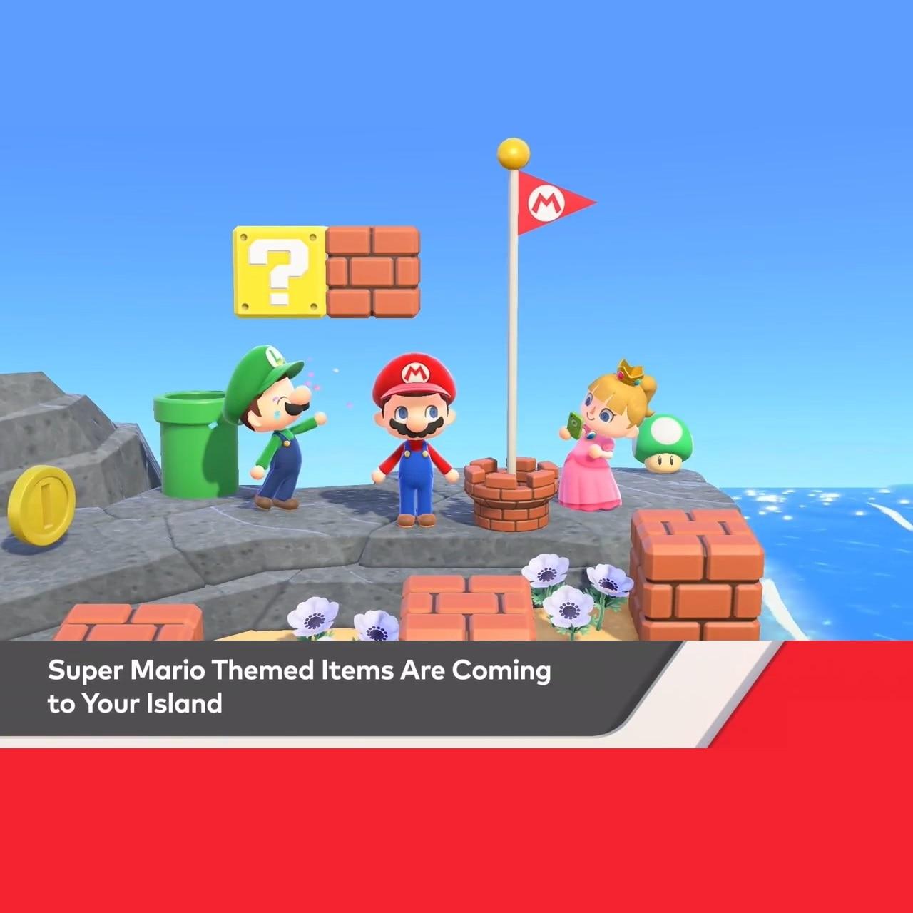 V1.8.0 обновление марта, пересечение животных, новые горизонты, тематические предметы Супер Марио, обновление мебели по 2/25 предзаказу, анимаци...