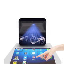 купить Large Touch Projector 150inch Screen Display Android WiFi Bluetooth HD Home Theater Mobile Applicate Projection Portable Beamer по цене 50670.12 рублей