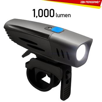 F1 1000 Lumen potężny led rowerowy przednie światła z czujnikiem światła wodoodporna lampa przednia do roweru USB akumulator-dla osób dojeżdżających do pracy Ro tanie i dobre opinie DON PEREGRINO Kierownica Baterii