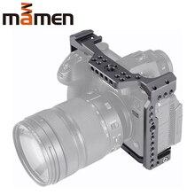 """MAMEN อลูมิเนียมการบินกล้อง Video Stabilizer 1/4 """"3/8"""" สกรูรองเท้าเย็นสำหรับ Panasonic S1 /S1H/S1R กล้อง"""