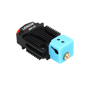Image 3 - LERDGE 2 IN 1 S1 3D Printer Parts Bowden MK8 Titan V6 Extruder dual hotend Switching 2 colors Multi Color 0.4 Nozzle Kits