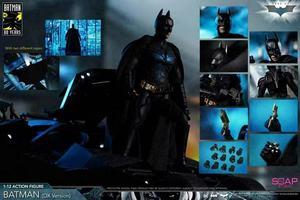 В наличии Soap Studio FG004 1/12 Rise Batman DX12 Ver. Темный рыцарь Подвижная кукла Фигурка для коллекции