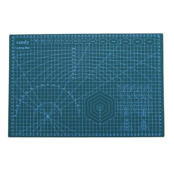 Коврик для резки из ПВХ A3/A5, нескользящий лоскутный коврик для резки, ручной инструмент «сделай сам», двухсторонняя самовосhealing вающаяся раз...