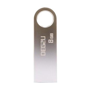 Usb Memory Sticks | 10pcs Lot/bulk USB Flash Drive 8GB 16GB 32GB 64G Metal USB2.0 Memory Stick Custom Logo Keychain 128GB Pendrive Cle Usb Stick