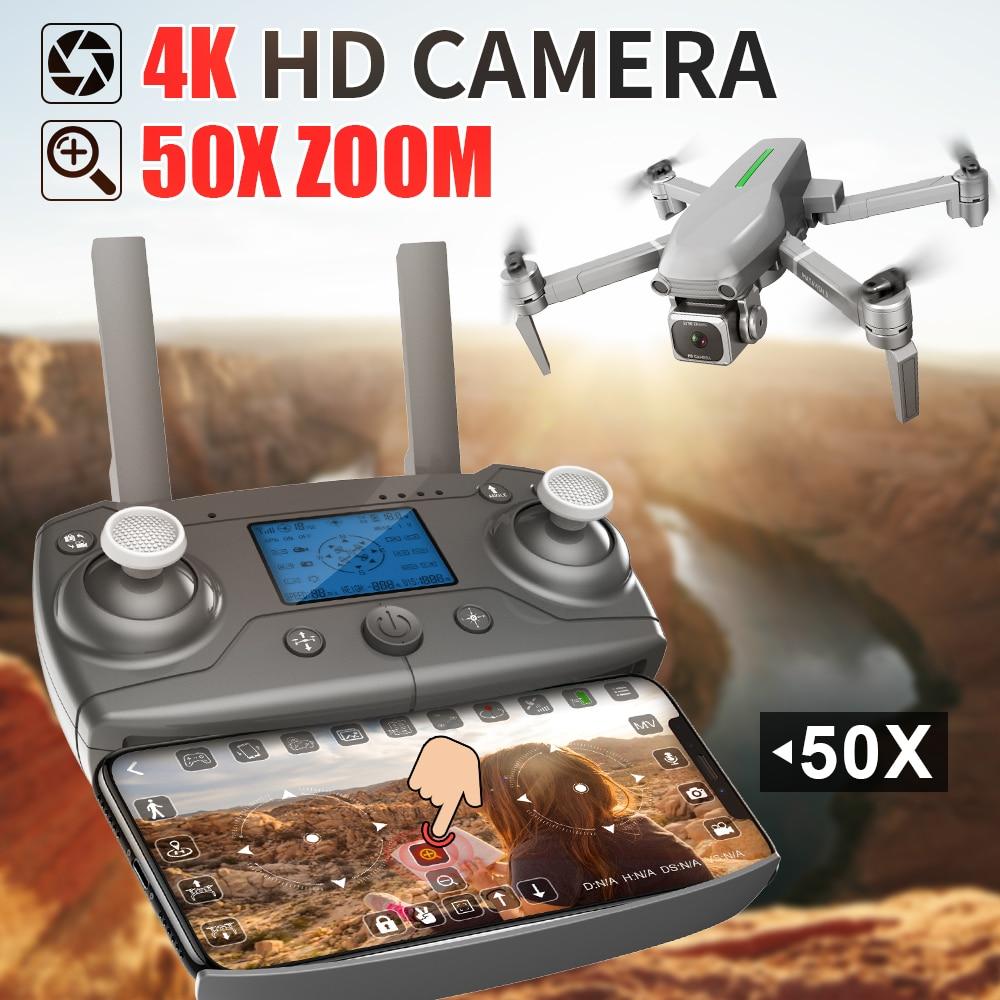 5G WIFI FPV 4K HD Camera Drone GPS RC Quadcopter Foldable Selfie Drones Professional 25Mins 1000m Long Distance Dron Toys