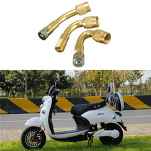 Brass-Valve-Tire-Valve-Extension Bike Motorcycle-Tire-Adapter-Parts-Accessories for Car