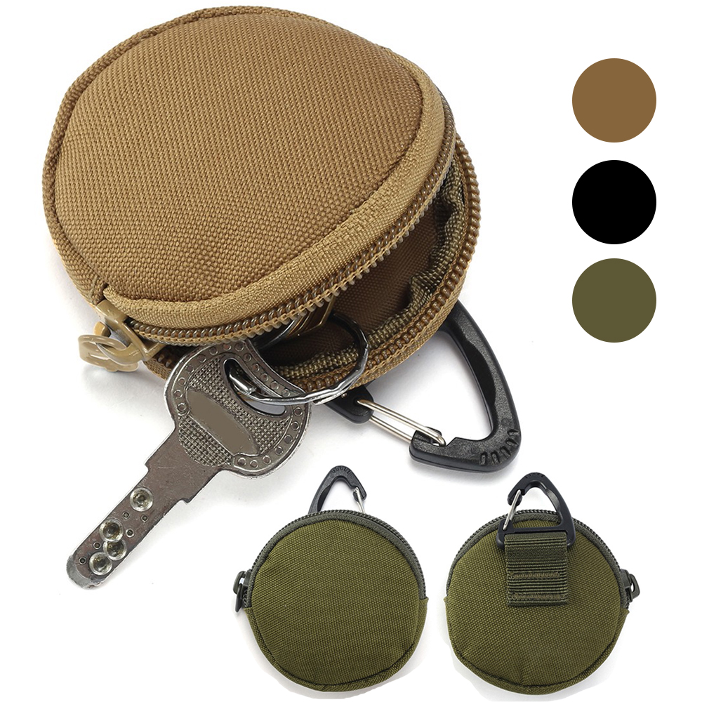 900D Nylon Multifunctional EDC Pouch Outdoor Military Tactical Waist Bag Molle Tool Zipper Pack Accessory Durable Belt Pocket