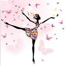 Cartoon Girl Butterfly Dancer 3D DIY zestaw do malowania diamentowego mozaika z haftu diamentowego ściegu plakat na płótnie ozdoby zestaw tanie tanio Meian Obrazy CN (pochodzenie) Kolorowe pudełko Pojedyncze Żywica Pełna Zwinięte 1-30 Plac Europejski i amerykański styl