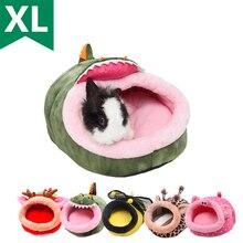 Домик для домашних животных морские свинки хорьки хомяки ежики кролики голландские крысы супер теплая Высококачественная кровать для маленьких животных
