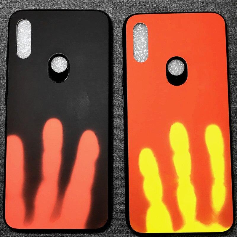 Thermal Induction Discolored Phone Case for Xiaomi8 SE Explorer Mi9 Mi Mix 2s Note3 6 Redmi7 6 Note6 Pro K20 TPU Back Cover