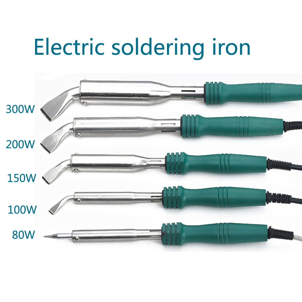 300W/200W/150W/100W/80W Electric Soldering Irons Welding Solder Fast Heating Pencil For Jewelry DIY Welding Tips Repair Tool