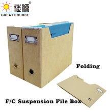 Органайзер для журналов foldaway подвесной держатель файлов