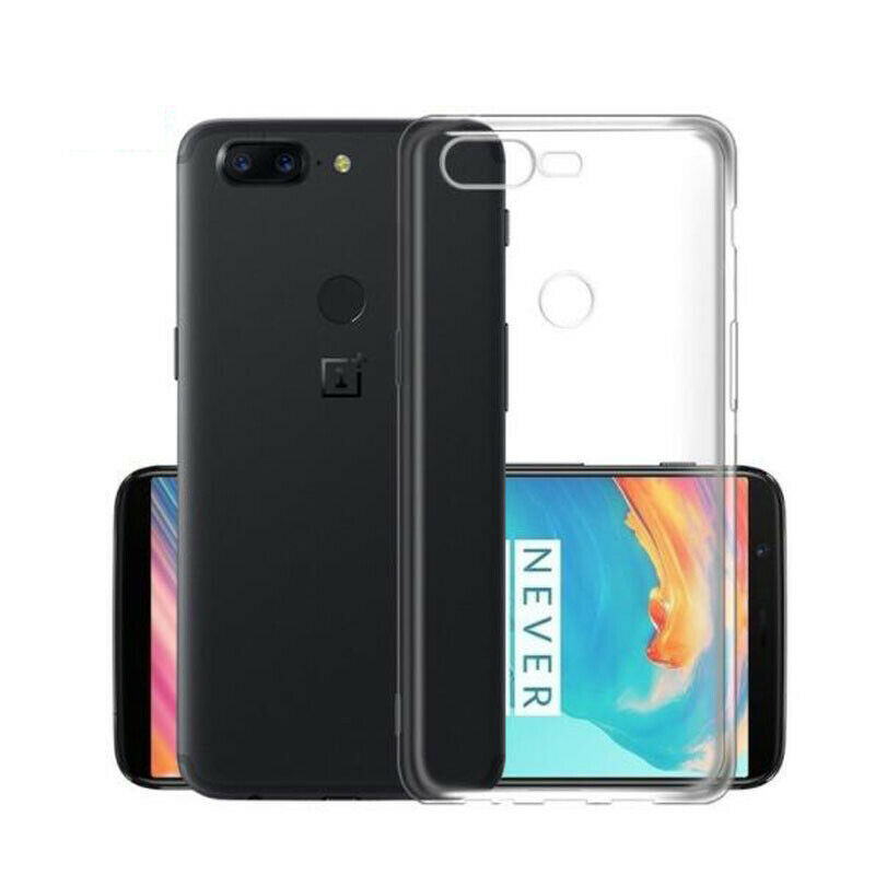 Soft TPU <font><b>Case</b></font> For <font><b>OnePlus</b></font> <font><b>5T</b></font> Ultra Thin Clear <font><b>Silicone</b></font> Protective Dustproof Crystal Back Cover Caso Full Body Capa Coque Skin image