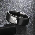 8mm Titanium Ring Fo...
