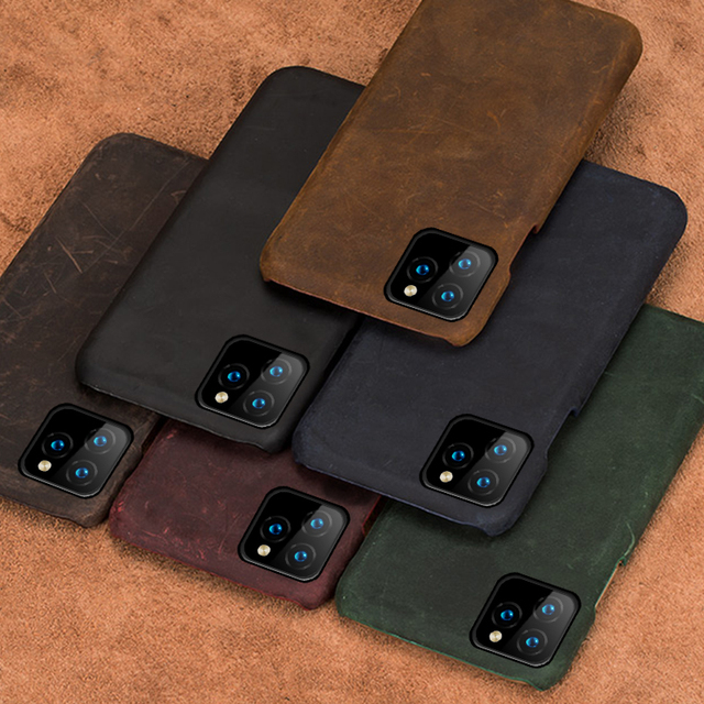 Leather Phone Cover iPhone 11 Pro Max 4