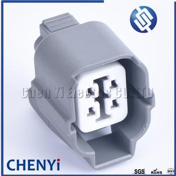 1 Juego de 4 Pin 6189-0132, 6181-0073 HW conector de Auto sellado luz de la lámpara enchufe de Motor para Toyota Camry Honda B-Series O2 enchufe del Sensor
