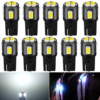 10x Car LED T10 W5W Canbus Bulb Interior Dome Light Reading Lights For Ford Focus 2 3 Fiesta MK2 MK3 Mondeo MK4 Fusion Ranger image