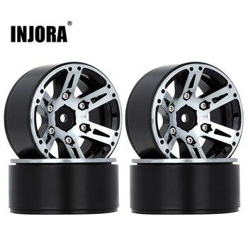4PCS Metal Wheel Rim 1.9 Inch BEADLOCK for 1/10 RC Rock Crawler Axial SCX10 90046 AXI03007 TAMIYA CC01 D90 TF2 Traxxas TRX-4 2