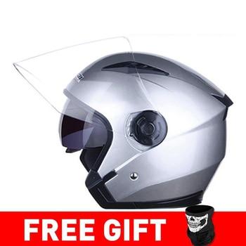JIEKAI Motorcycle Helmet Open Face Helmets Motocicleta Cascos Para Motorbike Scooter Riding Safety Helmet Cascos Para Moto 10