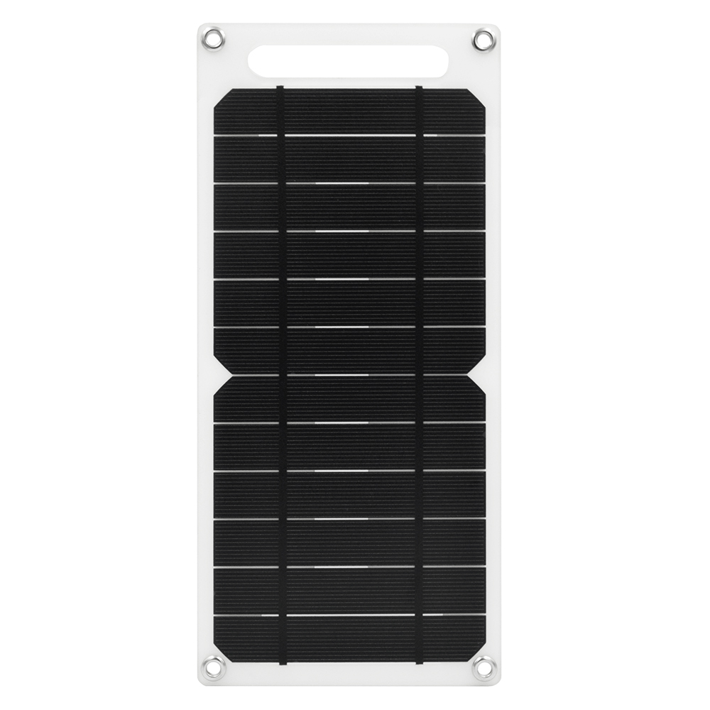 SUNWALK 6W 5V Flexible Solar Panel Charger 1A Solar Battery Charger with USB Output Charging for Cell Phone/<font><b>Power</b></font> <font><b>Bank</b></font> image