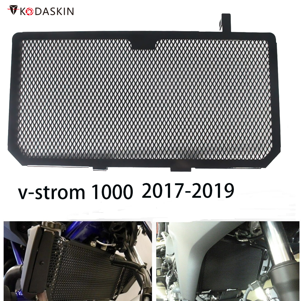 Motorcycle Engine Radiator Bezel Grille Guard Cover Protector Grill For SUZUKI <font><b>V</b></font>-<font><b>STROM</b></font> <font><b>1000</b></font> VSTROM <font><b>1000</b></font> DL1000 <font><b>DL</b></font> <font><b>1000</b></font> image